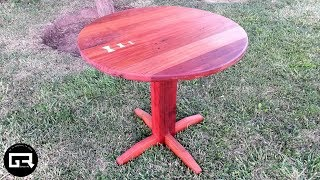 MESA DE MADERA RECICLADA / DIY TABLE RECLAIMED WOOD