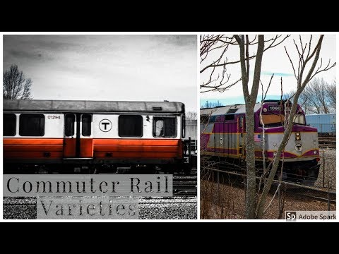 Commuter Rail Varieties At Wellington Station! | MBTA - Amtrak
