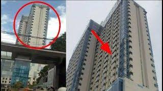 Full Video Detik Detik Apartemen Margonda Miring