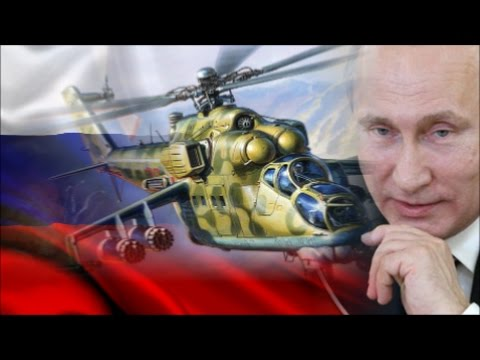 Putin's Helicopter Fleet. A Red Curtain In The Way Of NATO.