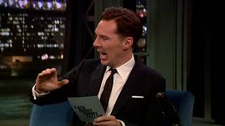 Benedict Cumberbatch ve Jimmy Fallon