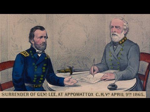 Language And Rhetoric At Appomattox (Lecture)