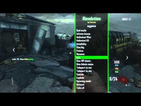 Revolution Mod Menu By Enstone On (Zombies)