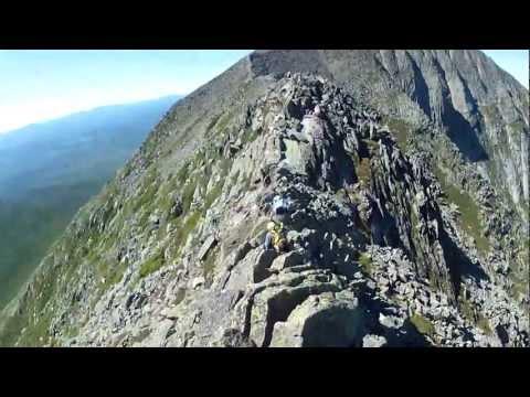 Mount Katahdin Knife Edge -- GoPro