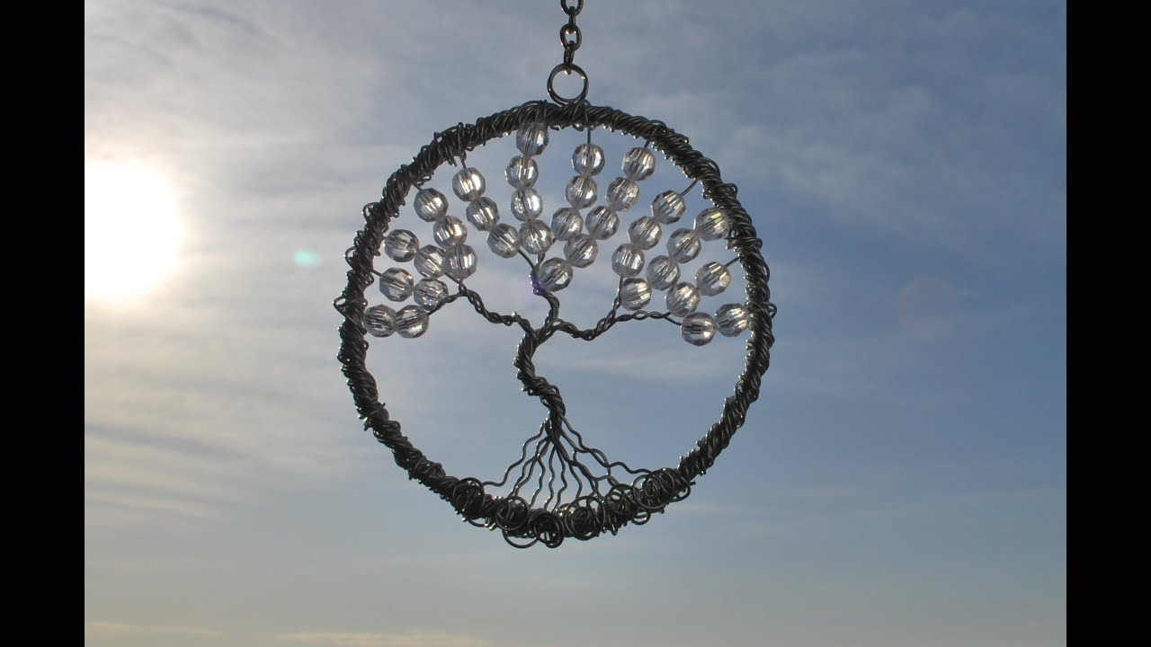 Tree of Life Sun Catcher Tutorial - YouTube