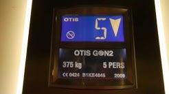 Otis traction elevator/lift in Tornihaukantie 6A, Karakallio, Espoo