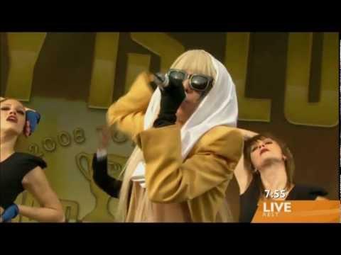 Lady Gaga - [HD 1080p] Just Dance (Live Sunrise in Australia on 26/09/2008)