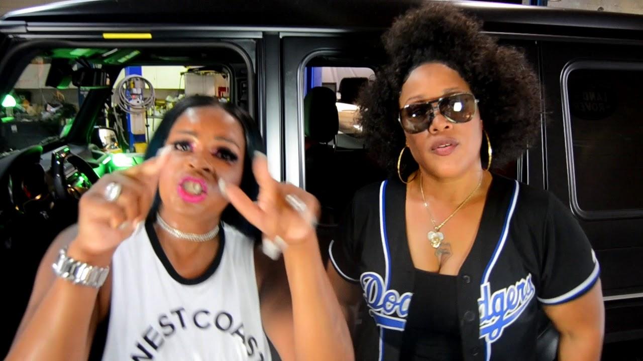 "Fyne Girlz with regard to real la girlz"" new ganksta music (video) 'gbm' icegirl diamond"