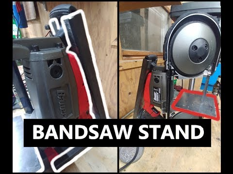 Simple Harbor Freight BAUER BandSaw Stand