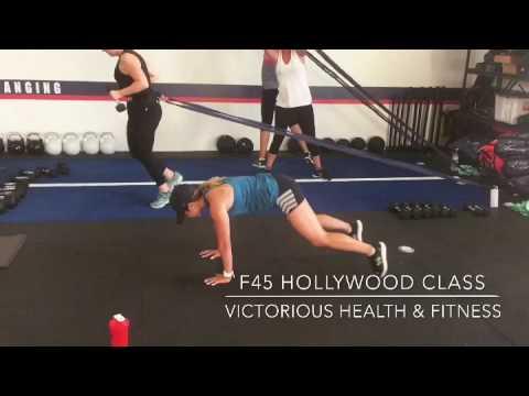F45 Hollywood class