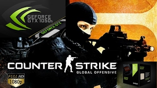 Counter Strike CS:GO(PC) - Athlon X4 880k - Zotac GTX 1050 Ti 4gb GDDR5 Very High settings 1080p
