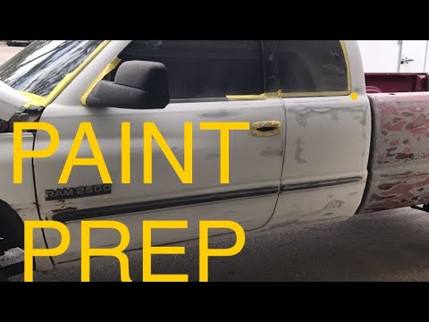 PAINT PREP FOR THE CUMMINS!!!  Part 1 of 2