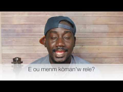How to speak Haitian Creole