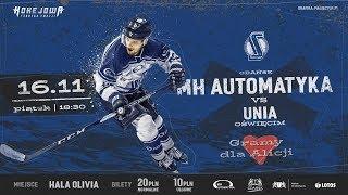 PHL: MH Automatyka Gdańsk - Unia Oświęcim (16.11.2018)