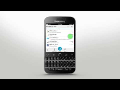 BlackBerry Hub: BlackBerry Classic - Official How To Demo