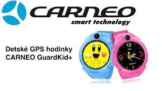 2e1dfd86e Detské hodinky s GPS CARNEO GuardKid+ SK ...