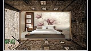 видео Декор стен в спальне своими руками (фото)