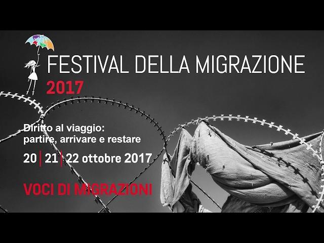 Festival della Migrazione 2017_Voci di migrazioni