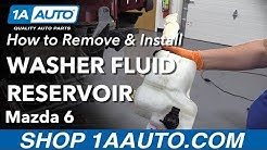 How to Remove Washer Fluid Reservoir 02-07 Mazda 6