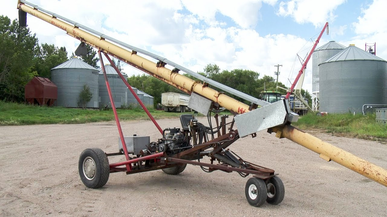 Custom Self Propelled Auger Youtube
