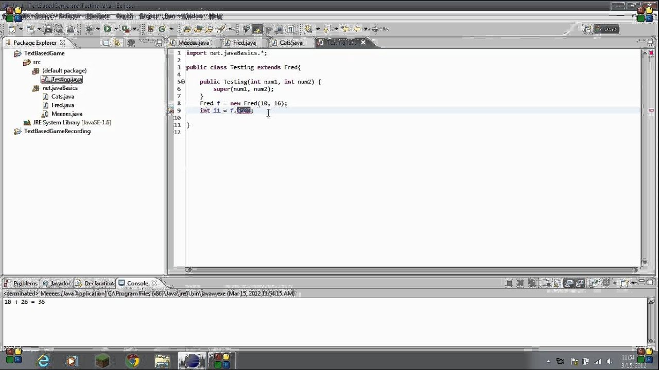 Java beginner tutorial 19 public private and protected youtube java beginner tutorial 19 public private and protected baditri Gallery