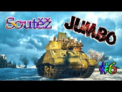 WoT - Divácký replay ► M4A3E2 Sherman Jumbo ( SOUTĚŽ #6 → NVIDIA ) ► NÁBOR !