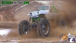2000 Hp Farm Jeep Skims The Pond!