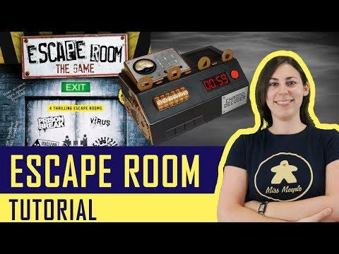 Escape Room, Il Gioco - Gioco da Tavolo - La ludoteca #78 (NO SPOILER)