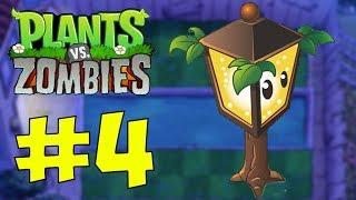 Прохождение Plants vs Zombies на Xbox One X - Часть 4. Туман (Fog)