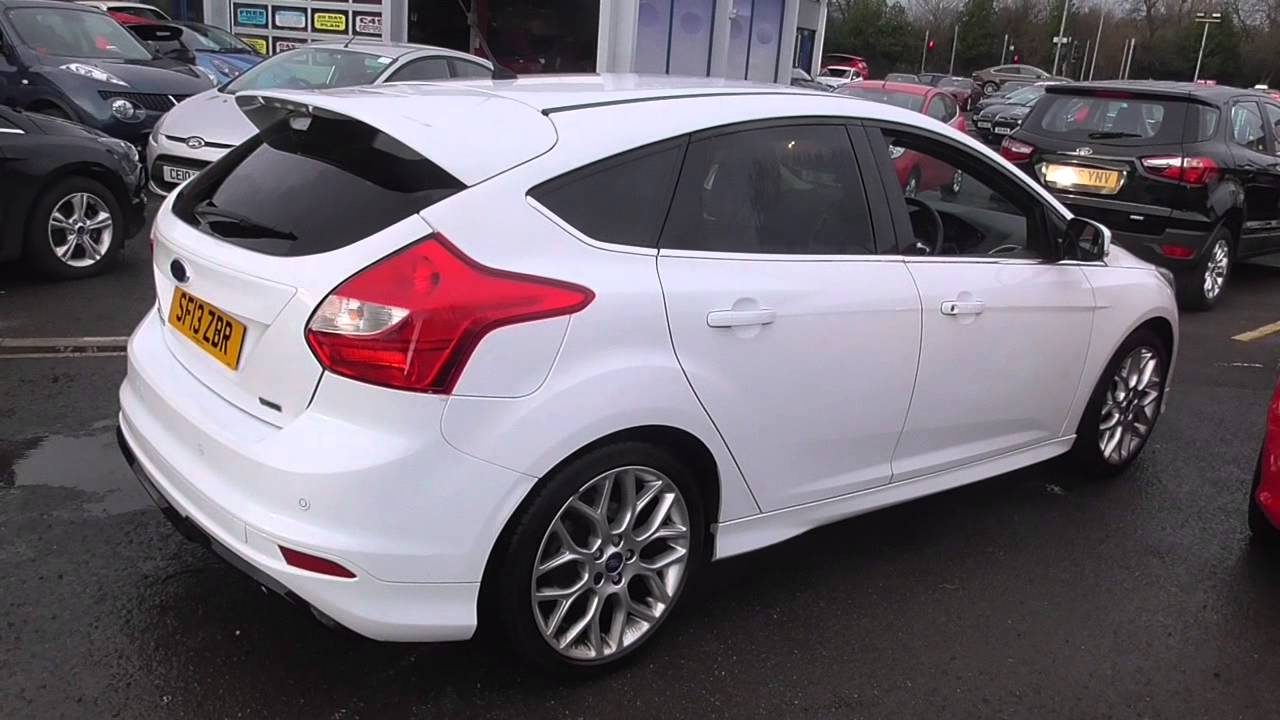 ford focus 1.6 182 ecoboost zetec s 5dr u33794 - youtube
