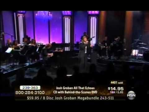 01-18-2013 Josh Groban HSN Concert--Falling Slowly