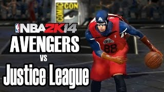 Avengers Vs. Justice League NBA 2K14 Mod HD + Download