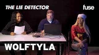 """Wolftyla & Her Manager Take A Lie Detector Test: Did She Write on """"Simon Says""""? 