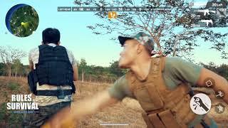 Rules of Survival | Bắn Súng Phong Cách Lê Dương Bảo Lâm