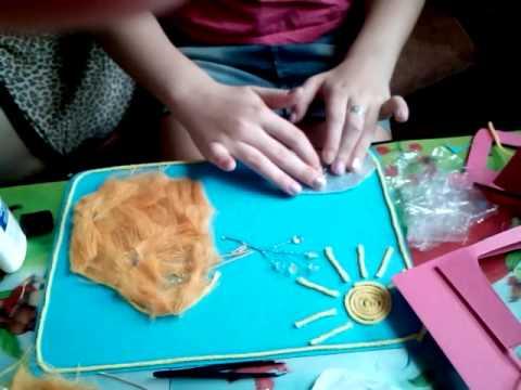Открытка для слабовидящих детей своими руками, днем рождения