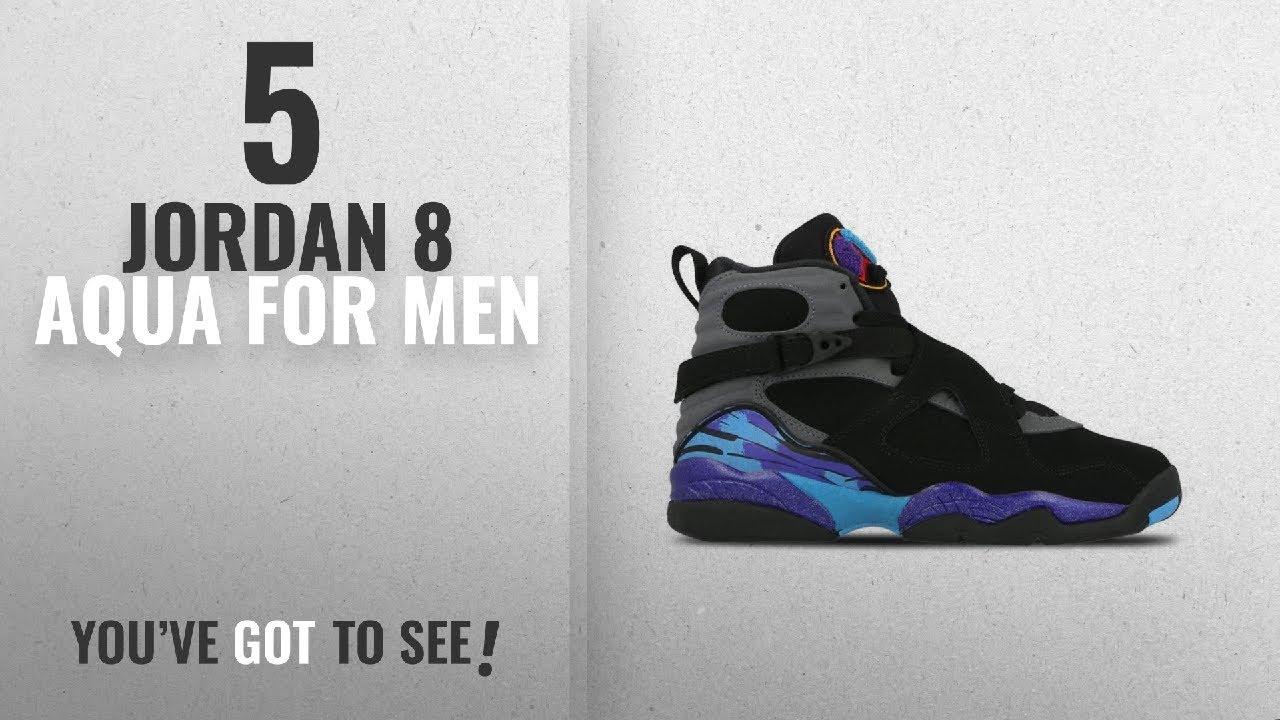 meet 5be71 763ea Top 10 Jordan 8 Aqua  2018    Air Jordan 8 Retro BG