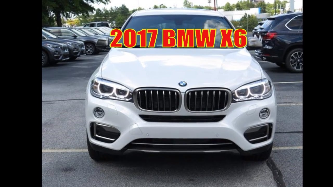 2017 BMW X6 Full Review
