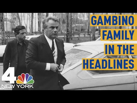 Three Times the Gambino Crime Family Has Made Headlines  NBC New York