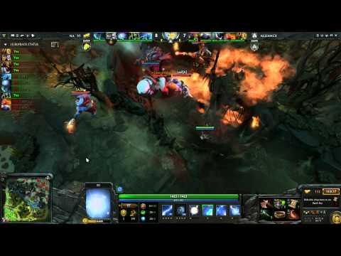 Alliance vs Na'Vi   Grand Championship 3 of 5   English Commentary