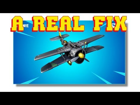 "PLANE ""FIX"" with ""TRIGGERED Clips"" Fortnite Battle Royale RANT"