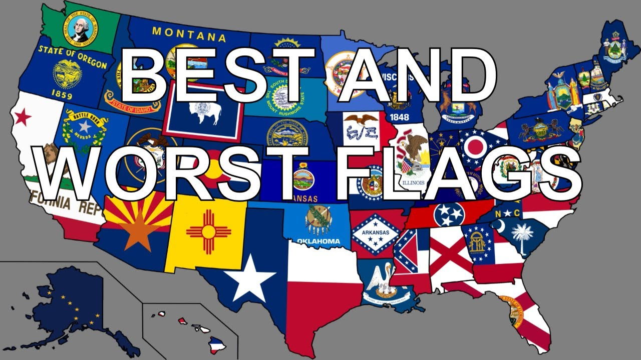 best and worst state flags youtube