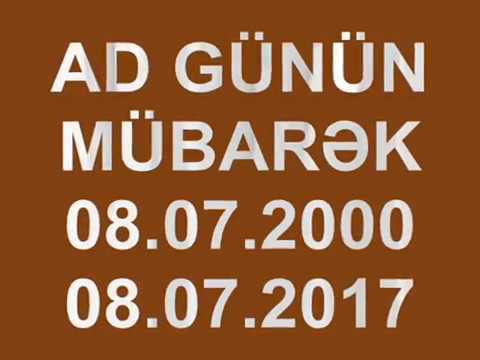 Nail Ad Gunun Mubarek 08.07.2017