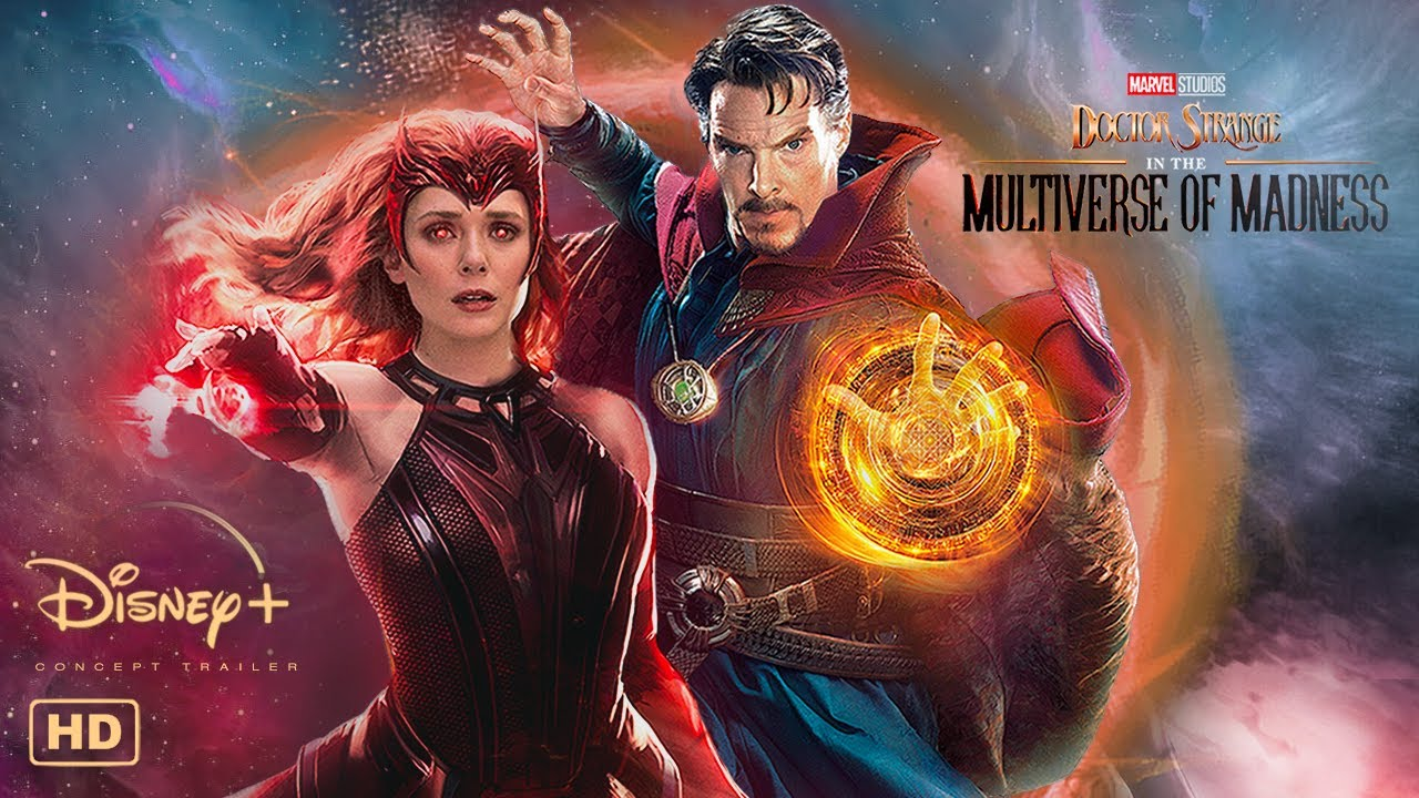 DOCTOR STRANGE IN THE MULTIVERSE OF MADNESS Trailer #1 | Disney+ Concept | Benedict Cumberbatch