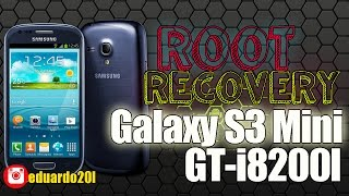 Root y Recovery para Samsung GALAXY S3 mini GT-I8200L /2017
