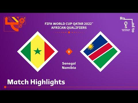 Senegal Namibia Goals And Highlights