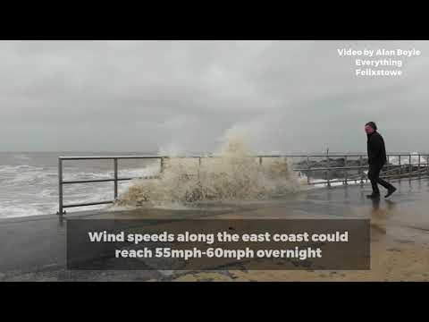 The impact from the 'Mini Beast from the East' in Felixstowe