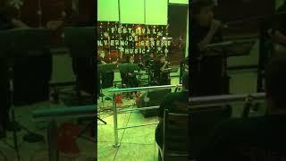 Festival de inverno Gênerus Music 2019 banda Kids tocando Aquarela