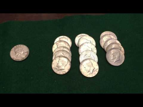 Best silver haul of my life! Coin roll hunting for silver! TRIFECTA!!!