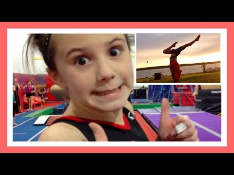 Gymnastics At Home & In The Gym 2014 2015 | Simply Liv