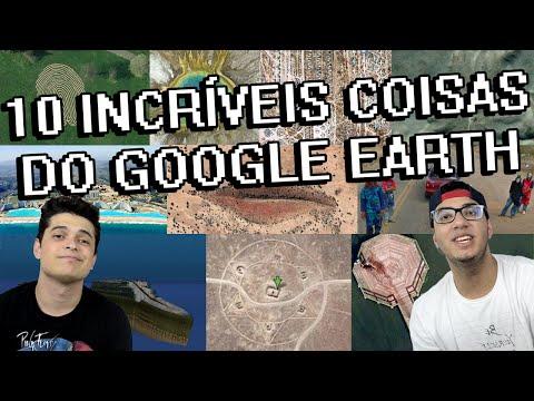10 INCRÍVEIS COISAS ENCONTRADAS NO GOOGLE EARTH